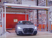 Movie: take a look at the production of the 2016 Audi TT RS