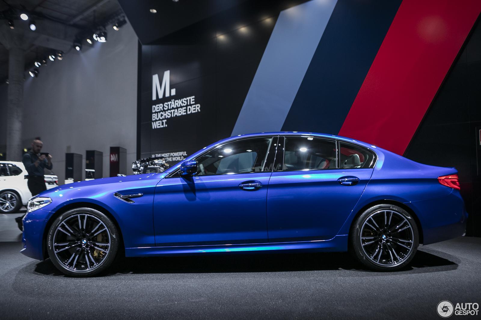 Bmw M5 G30 >> IAA 2017: BMW M5 G30