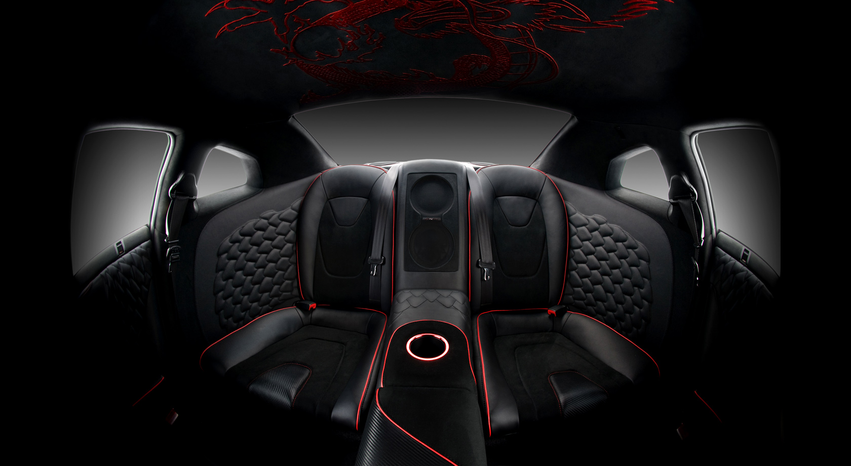 Vilner fills the interior of the Nissan GT-R with the mythological ...