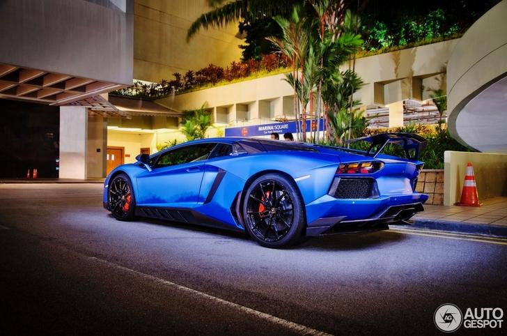 Spotted Bizarre Lamborghini Aventador Novitec Torado In