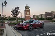 Impresionante color para este Ferrari 458 Spider visto en Barrington