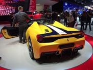 Paris 2014: Ferrari 458 Speciale A
