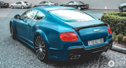 Bentley in Azerbeidzjan is extravagant