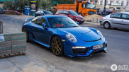 Blue Electric 911 van Carlex Design gespot!