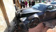 Un Mercedes-Benz SL 65 AMG Black Series acaba mal en Polonia