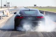 Hennessey tuned Jaguar F-TYPE R Coupé tot 623 pk