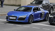 Spotted: limited Audi R8 LMX