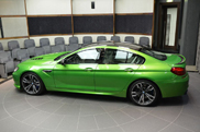 BMW M6 Gran Coupé is een hulk in het groen