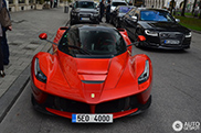 Sixth unique LaFerrari spotted in Munich