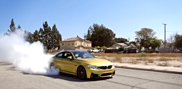 Movie: BMW M4 F82 Coupé makes an amazing burnout