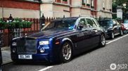 Rolls-Royce Phantom bij het vuilnis gezet in Londen