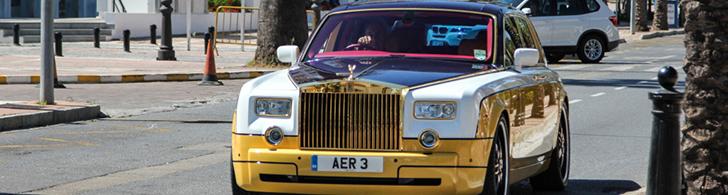 's Werelds meest unieke Rolls-Royce Phantom weer gespot
