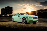 Michael Fux's Rolls-Royce Wraith is remarkable