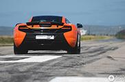 McLaren 650S Coupé wordt gestolen in Zuid-Afrika tijdens overal