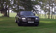 TaxtheRich is having fun in a Rolls-Royce Wraith