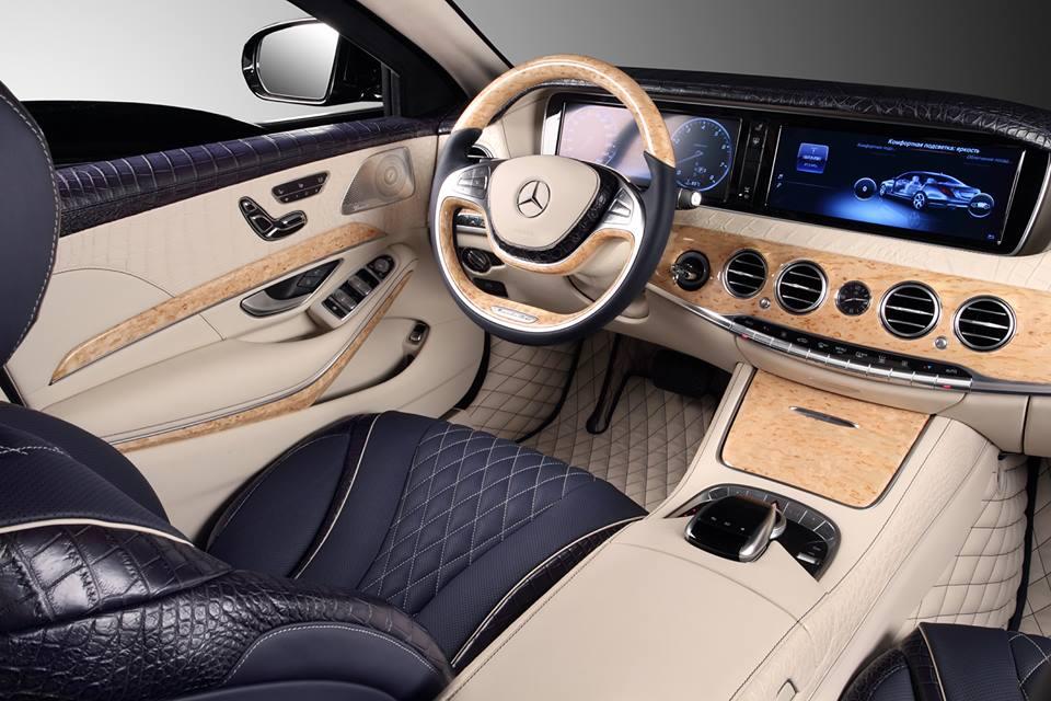 Topcar neemt nieuwe mercedes benz s klasse onder handen for Interieur s klasse