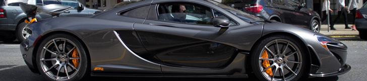 McLaren P1 MSO gespot in Greenwich