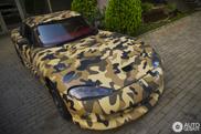 Dodge Viper RT/10 probeert zich te verbergen in Skopje