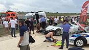 Porsche 918 Spyder crasht in publiek: 26 gewonden