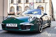 Gespot: Porsche 991 Targa 4S