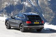 Bentley Bentayga shows up on the Großglockner