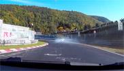 Filmpje: het blijft oppassen op de Nürburgring