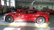 Ferrari F12tdf klaar voor aflevering