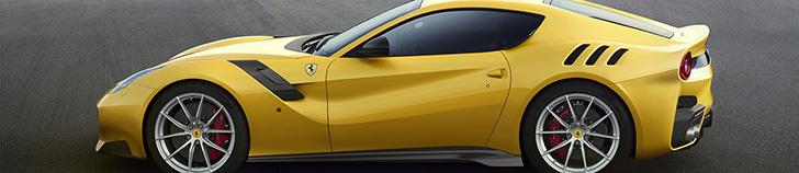 Ferrari shows limited F12tdf
