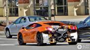 Twin-turbo setup zorgt voor bumperloze Lamborghini Gallardo