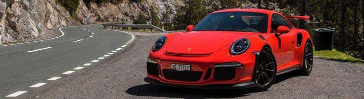 Hier voelt de Porsche 991 GT3 RS zich thuis