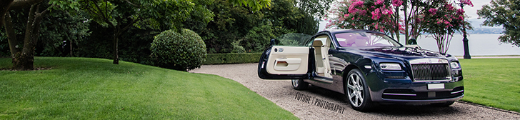 Fotoshoot: Rolls-Royce Wraith