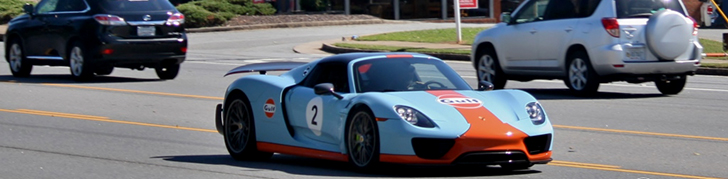 918 Spyder is an homage to Porsche's heritage