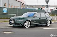 Audi RS6 C7 in bijzonder kleurtje