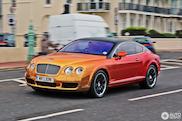 Wat is deze? Bentley Continental GT met opvallende wrap