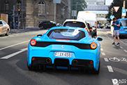 Special: 'smurf' blue Ferrari 458 Speciale