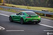 The Hulk gespot nabij de Nürburgring