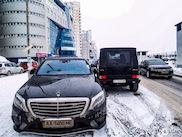 Mercedes-Benz S 63 AMG: prima bruikbaar in de winter