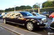 Lange Bentley Mulsanne is lang