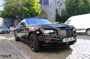 Rolls-Royce Wraith gaat op het boevenpad