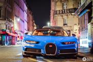 Bugatti Chiron oogt nog lekker futuristisch