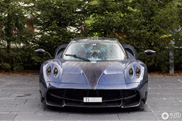 Pagani Huayra Futura enjoys the luxury in Andermatt
