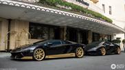 Combo: deze Lamborghini's benadrukken de familiebanden nog eens