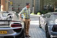 Spot van de dag: bekende Porsche 918 Spyder