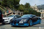 Bugatti Veyron Grand Sport Vitesse trekt de aandacht in Monaco