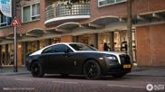 Rolls-Royce Wraith heeft echte bad-boy behandeling gehad