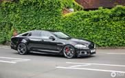 Powerlimousine van Jaguar is niet vaak gezien