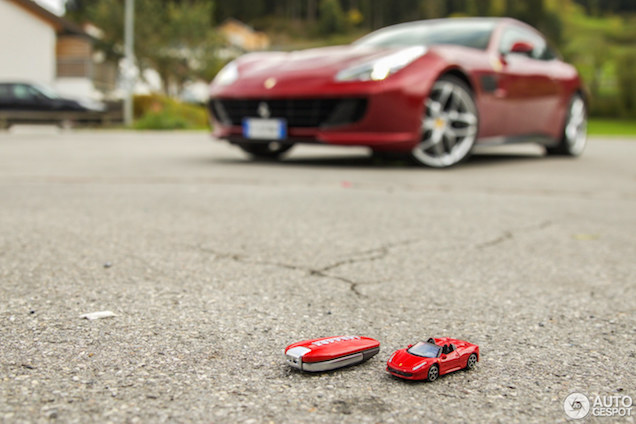 Fun en toch praktisch, Ferrari GTC4Lusso T