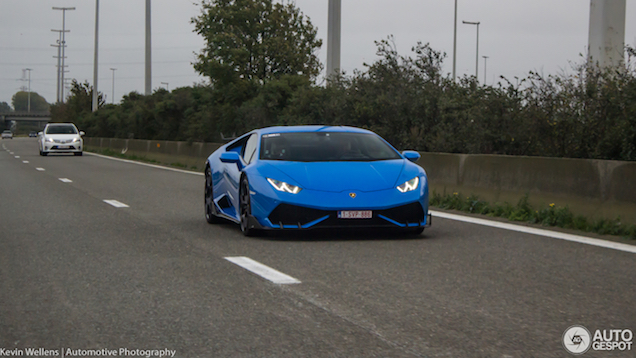 Lamborghini Huracán oogt beter met spoilers