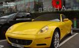 Unieke Ferrari 612 Scaglietti One-to-One gespot in Moskou
