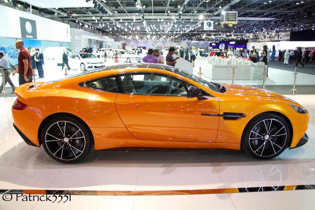 Aston Martin Vanquish Matte Orange